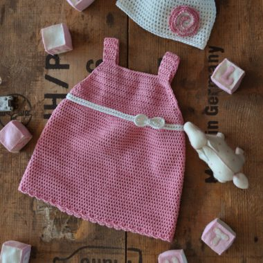 Babbyboo Newborn jurkje Daise haakpatroon