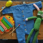 Babbyboo Newborn pakje Teddy haakpatroon