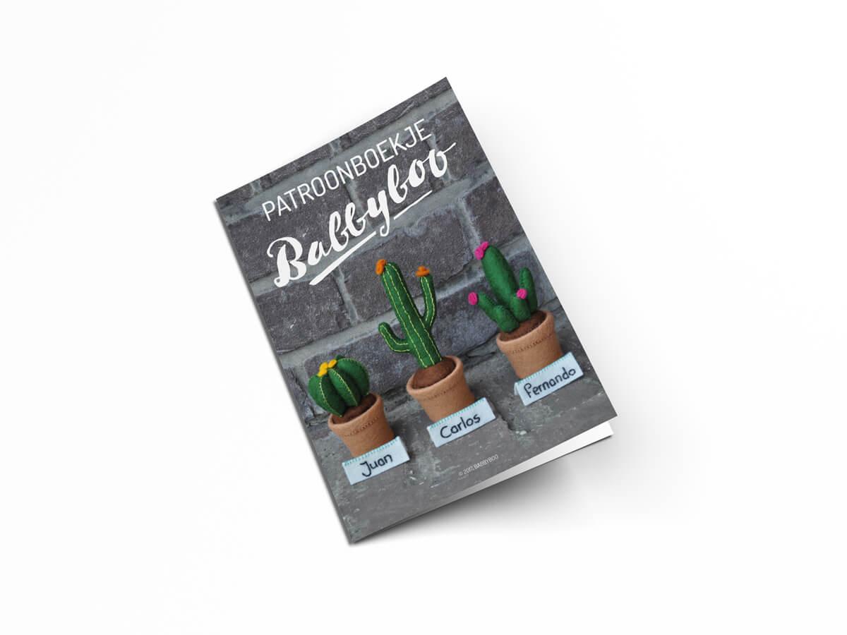 Patroonboekje vilten cactussen